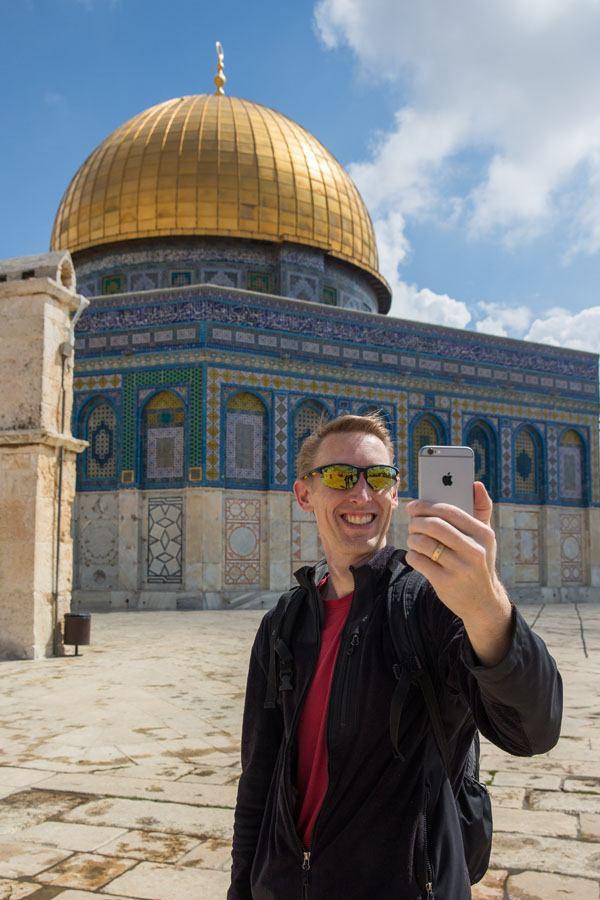 Temple Mount Selfie