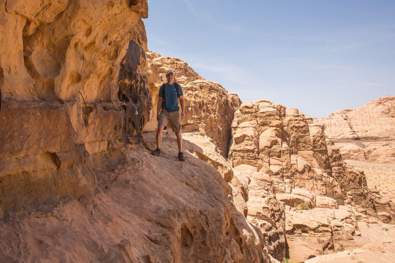 Trail to Jebel Burdah