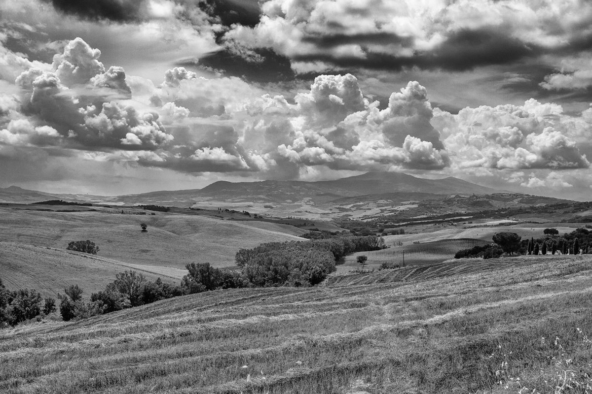 Tuscany B&W