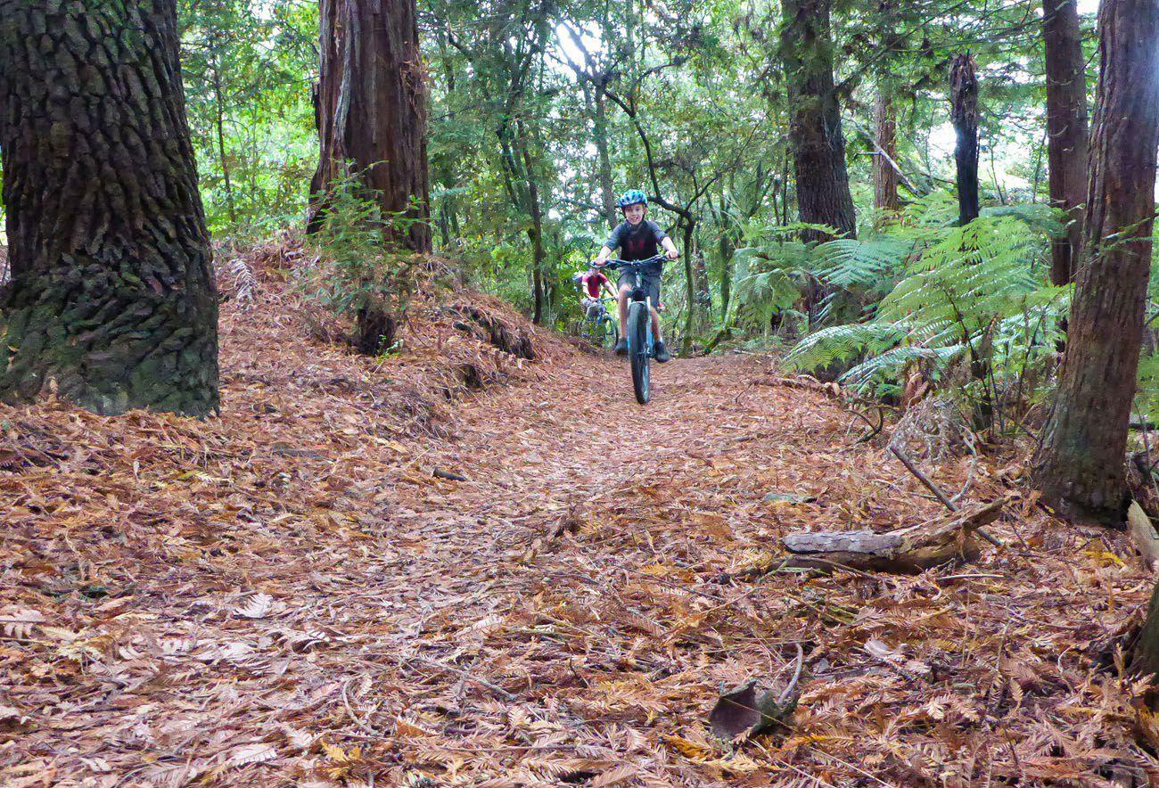 Tyler Mountain biking