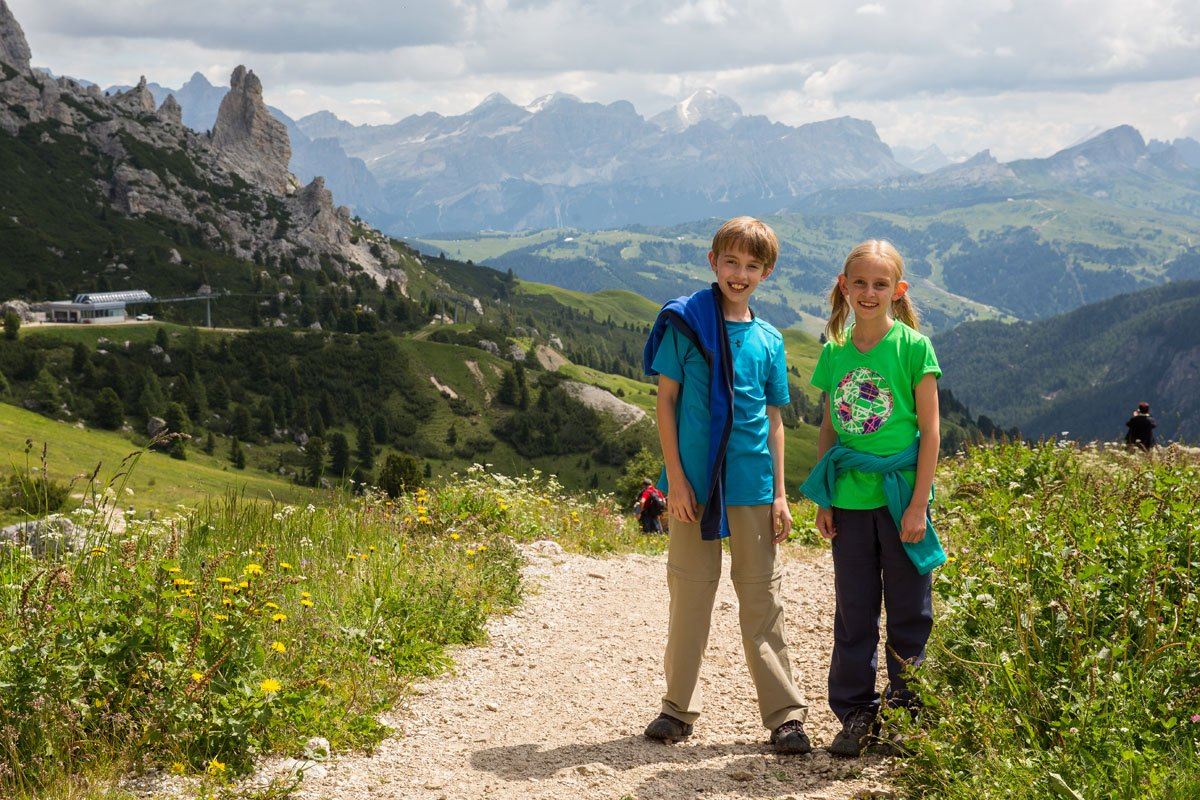 Tyler and Kara Dolomites