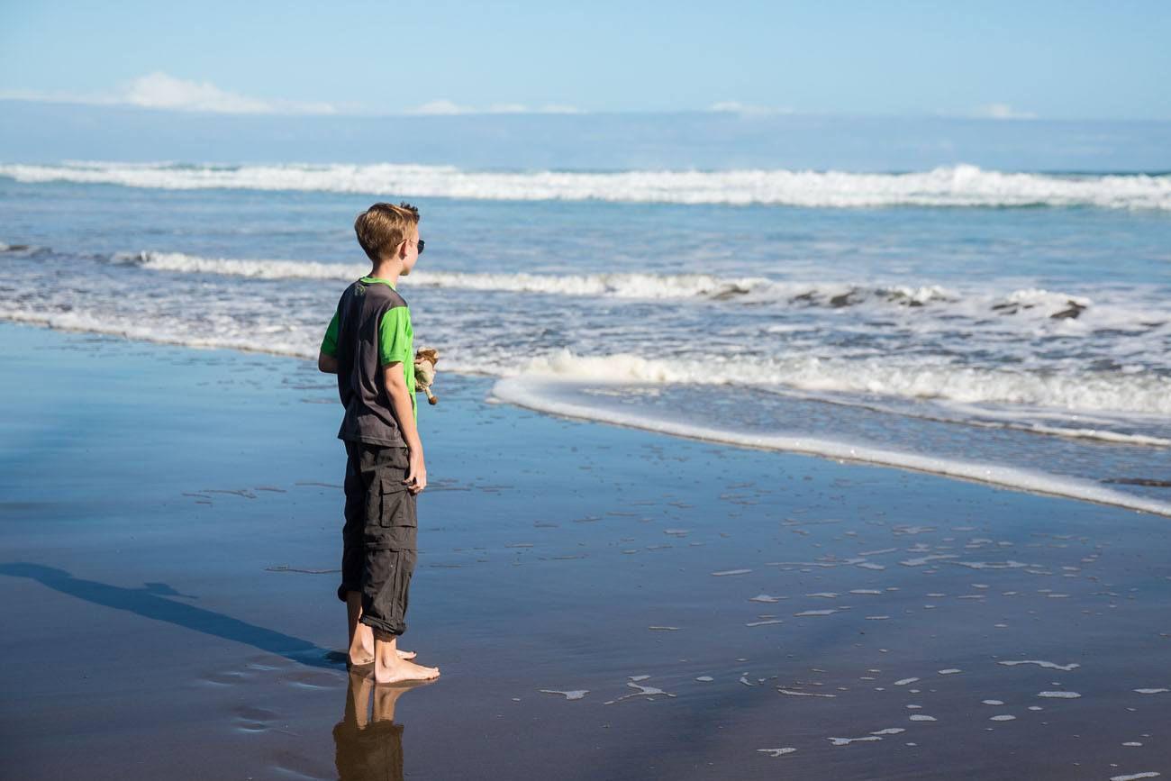 Tyler at the Beach