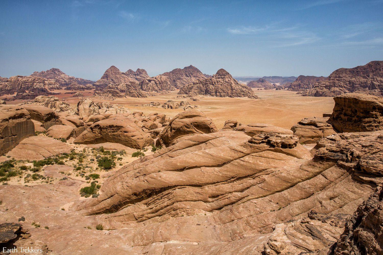 Wadi Rum from Jebel Burdah Arch