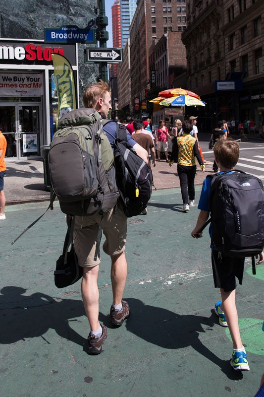 Walking Through NYC