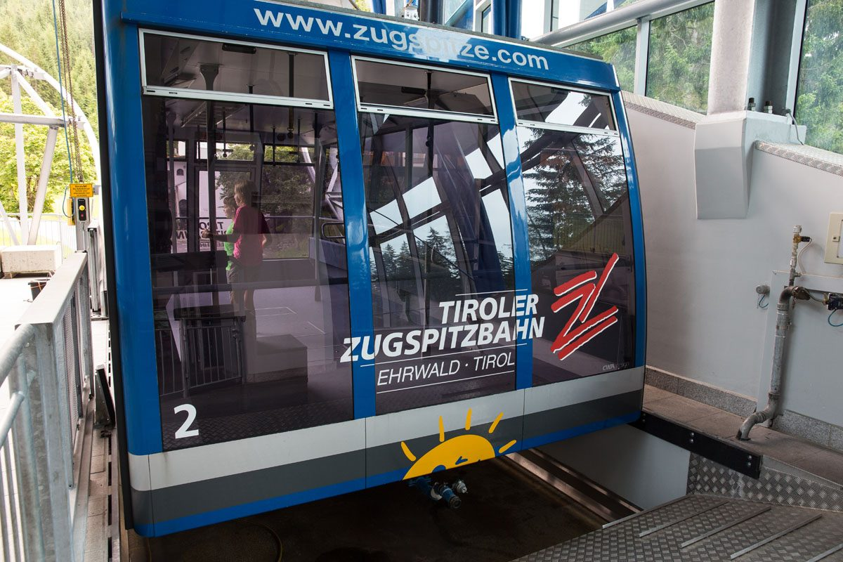 Cable Car Austria to Zugspitze