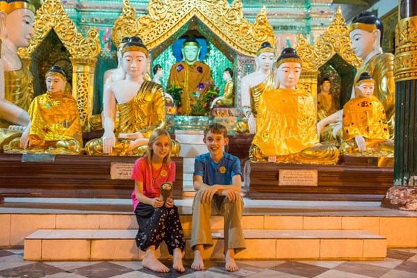 Kara and Tyler Myanmar