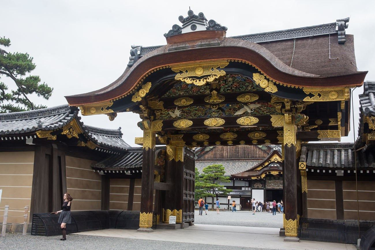 Nijo Castle Entrance