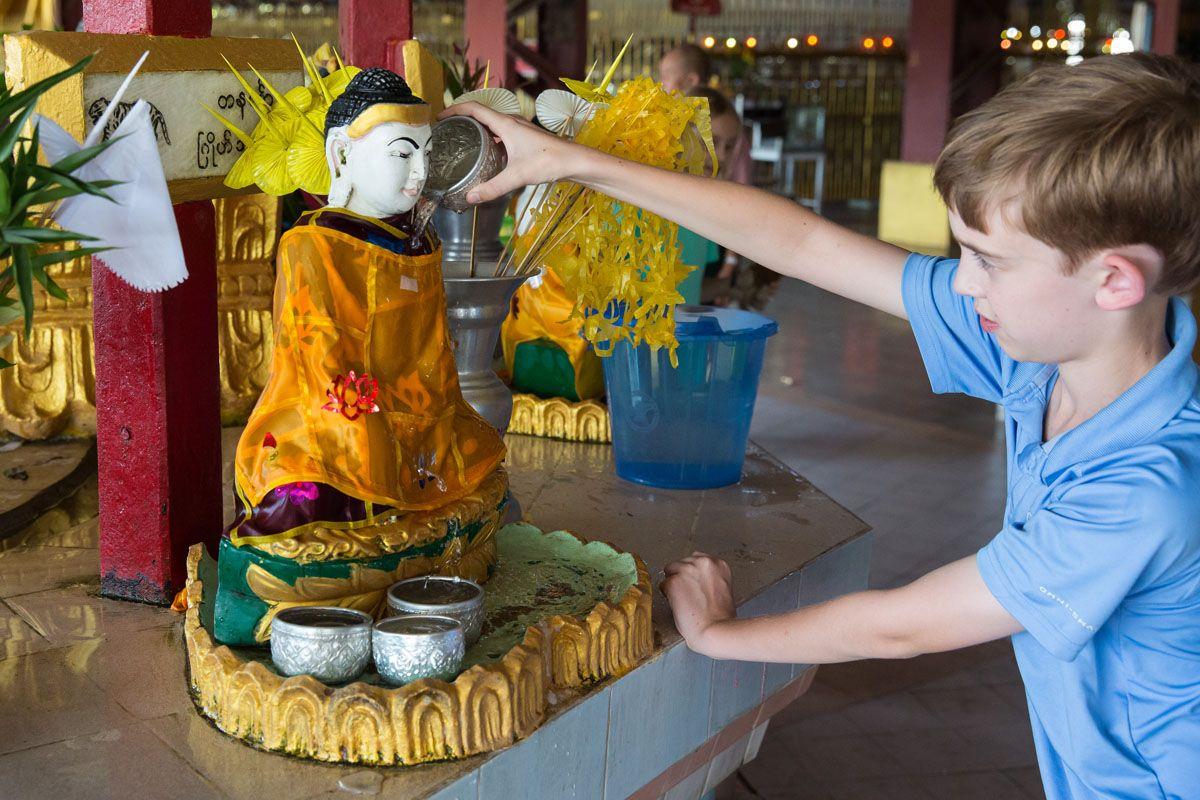 Tyler in Yangon