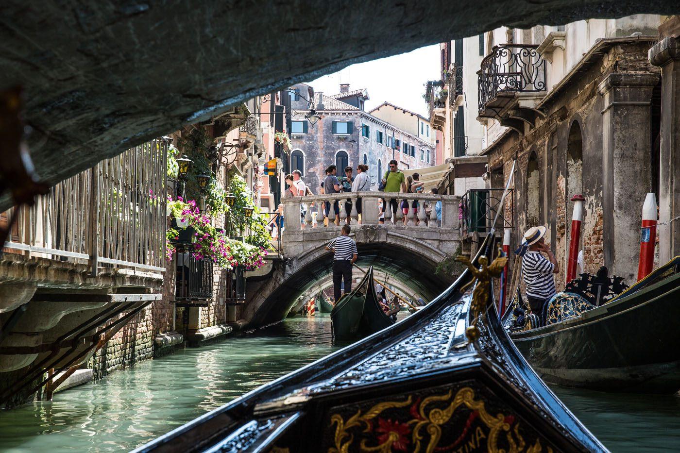 Venice Canal Gondola Ride