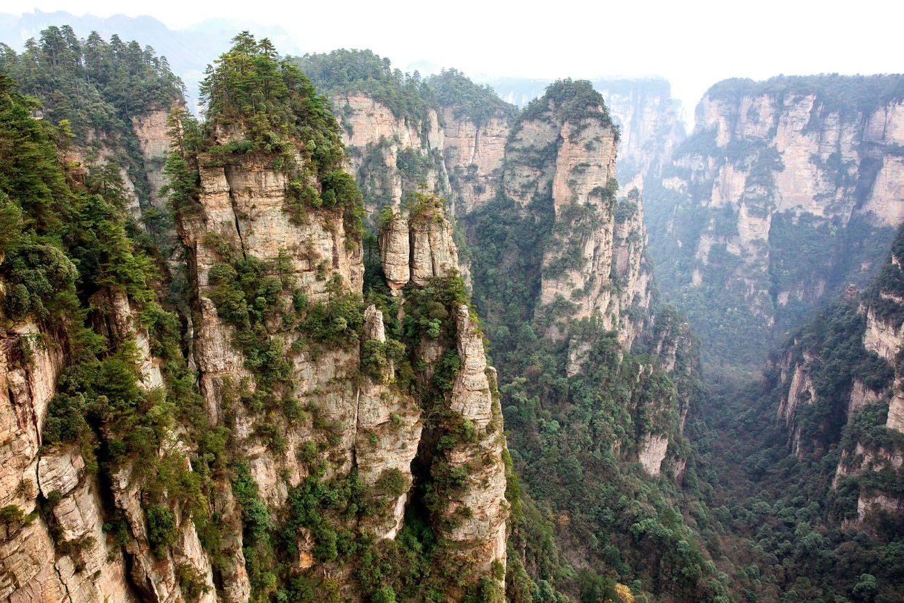 Assez Photo Tour of Zhangjiajie National Forest Park | Earth Trekkers IA92