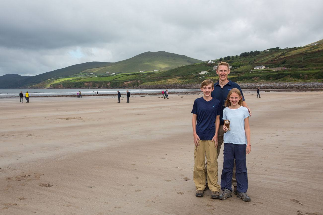 Earth Trekkers on Inch Beach