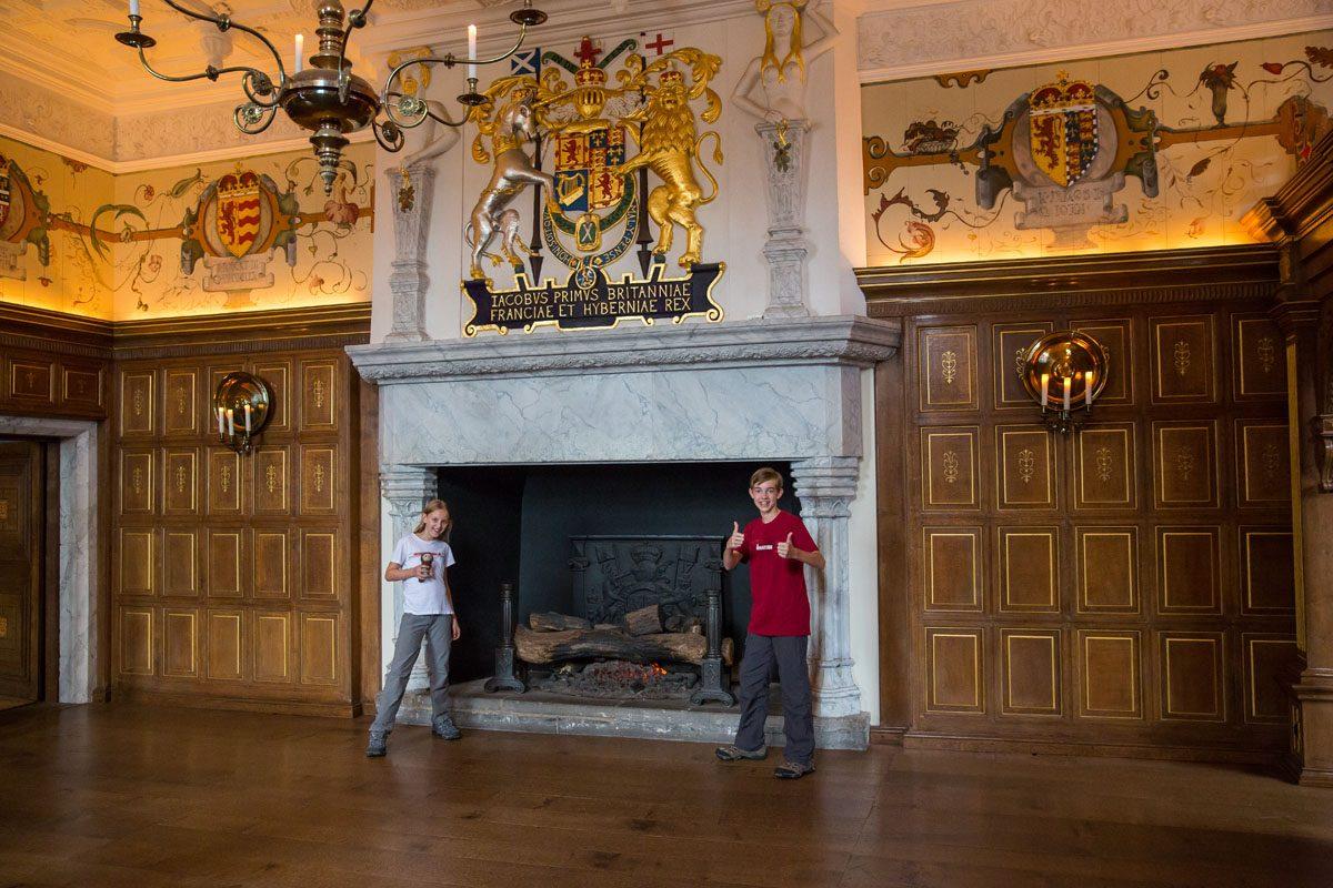 Edinburgh Castle Royal Apartments