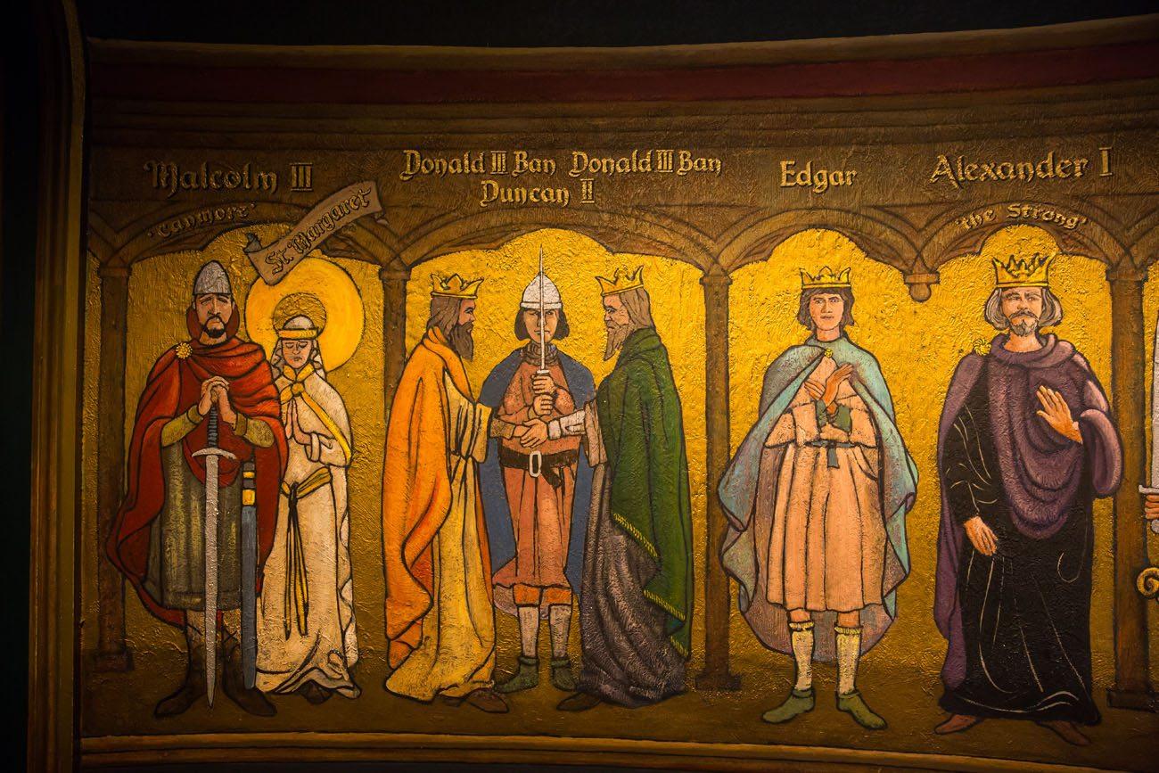Edinburgh Crown Jewels Mural