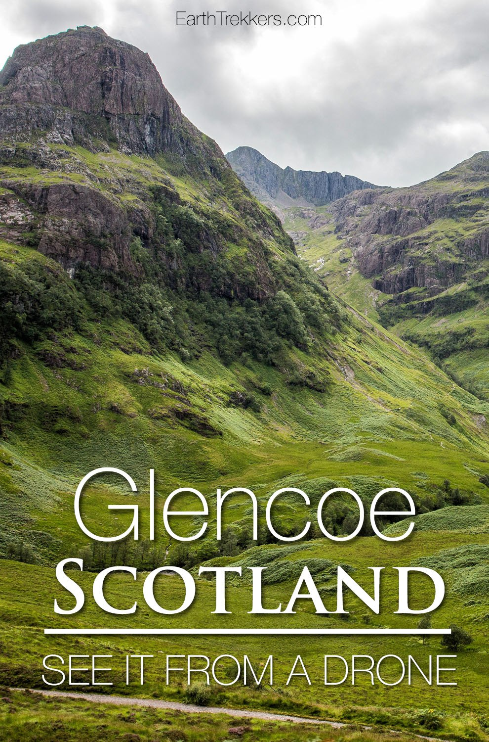 Glencoe Scotland Drone Photos