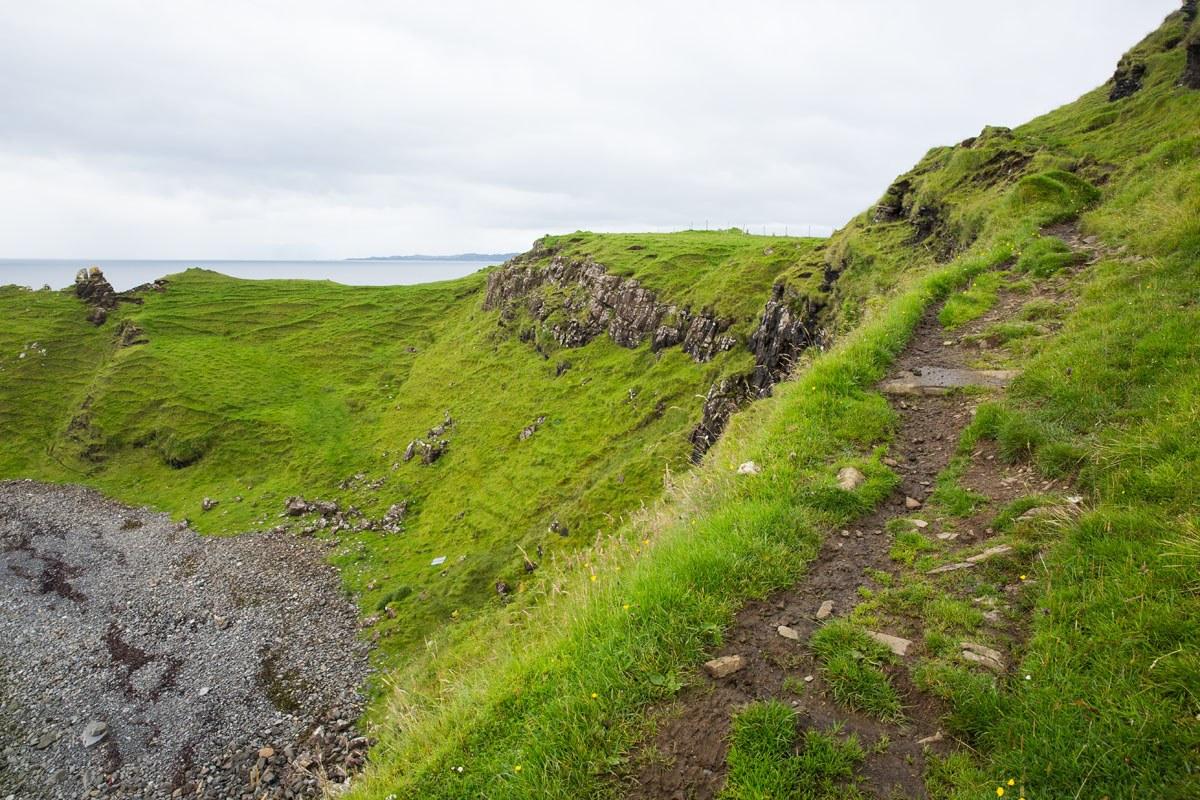 Hiking Rubha nam Brathairean Isle of Skye