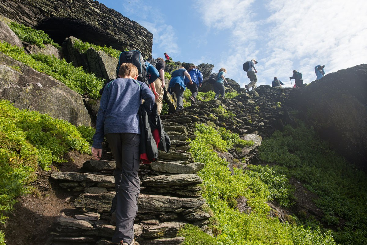 How Crowded is Skellig Michael