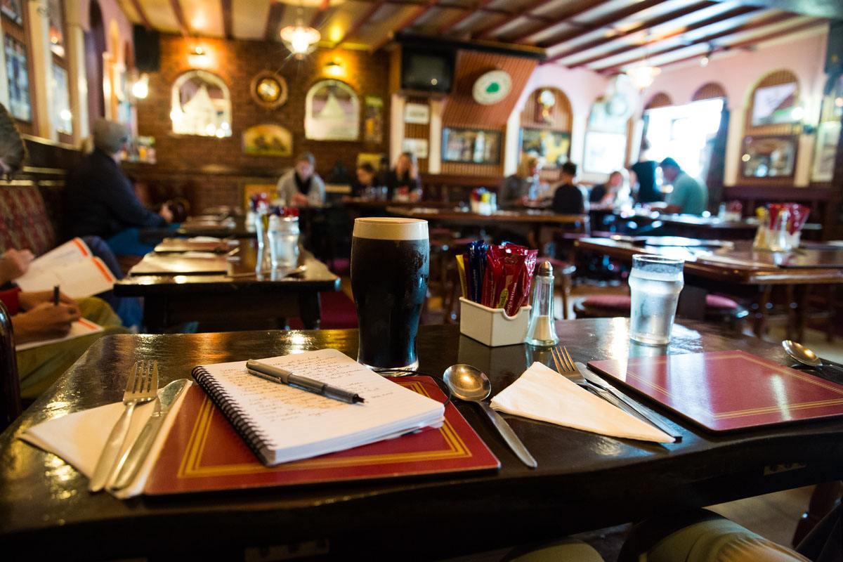 Inside Dingle Pub