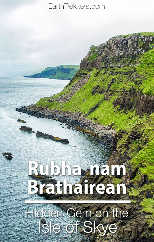 Isle of Skye best thing to do Rubha nam Brathairean