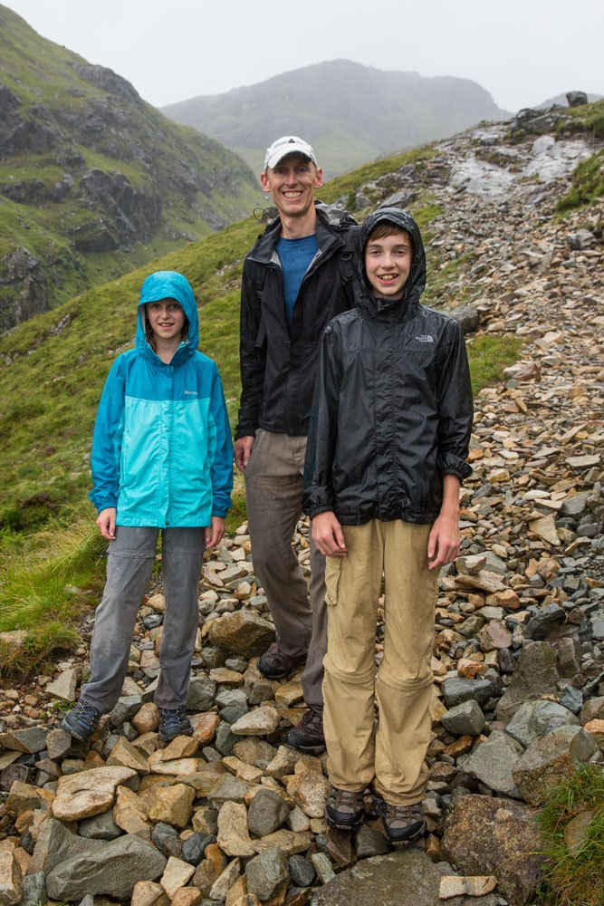 Bla Bheinn in the rain