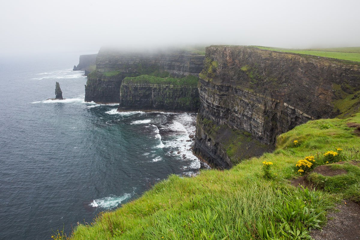 Cliffs of Moher Rain