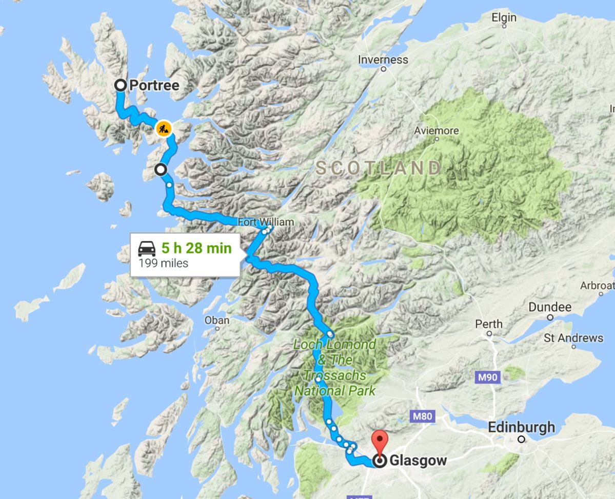 isle of skye tourist map things to do in skye island scotland