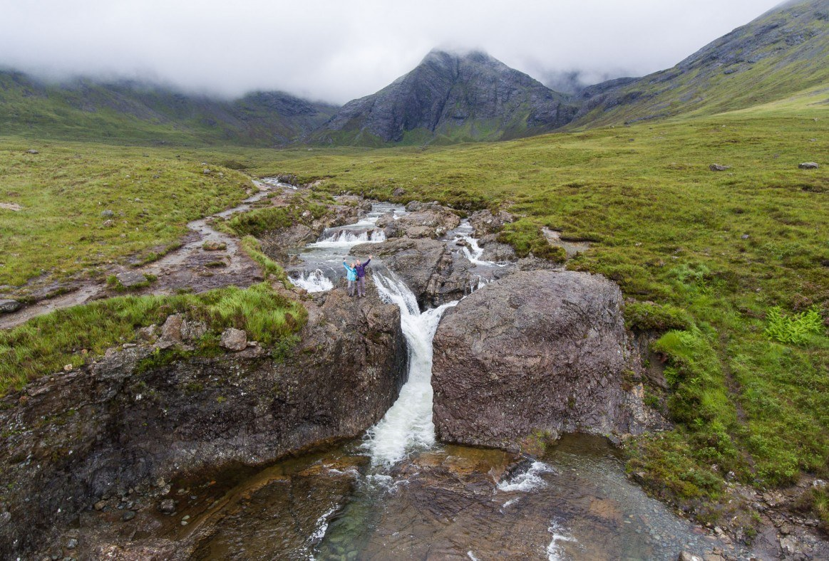 Fairy Pools Drone Video
