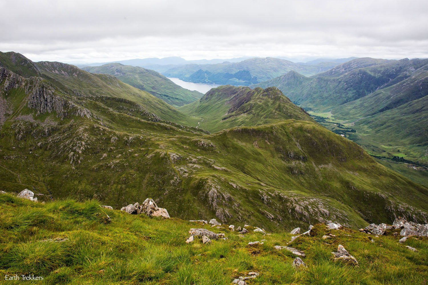 Hike Kintail Saddle