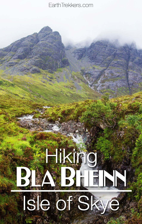 Hiking Bla Bheinn Isle of Skye