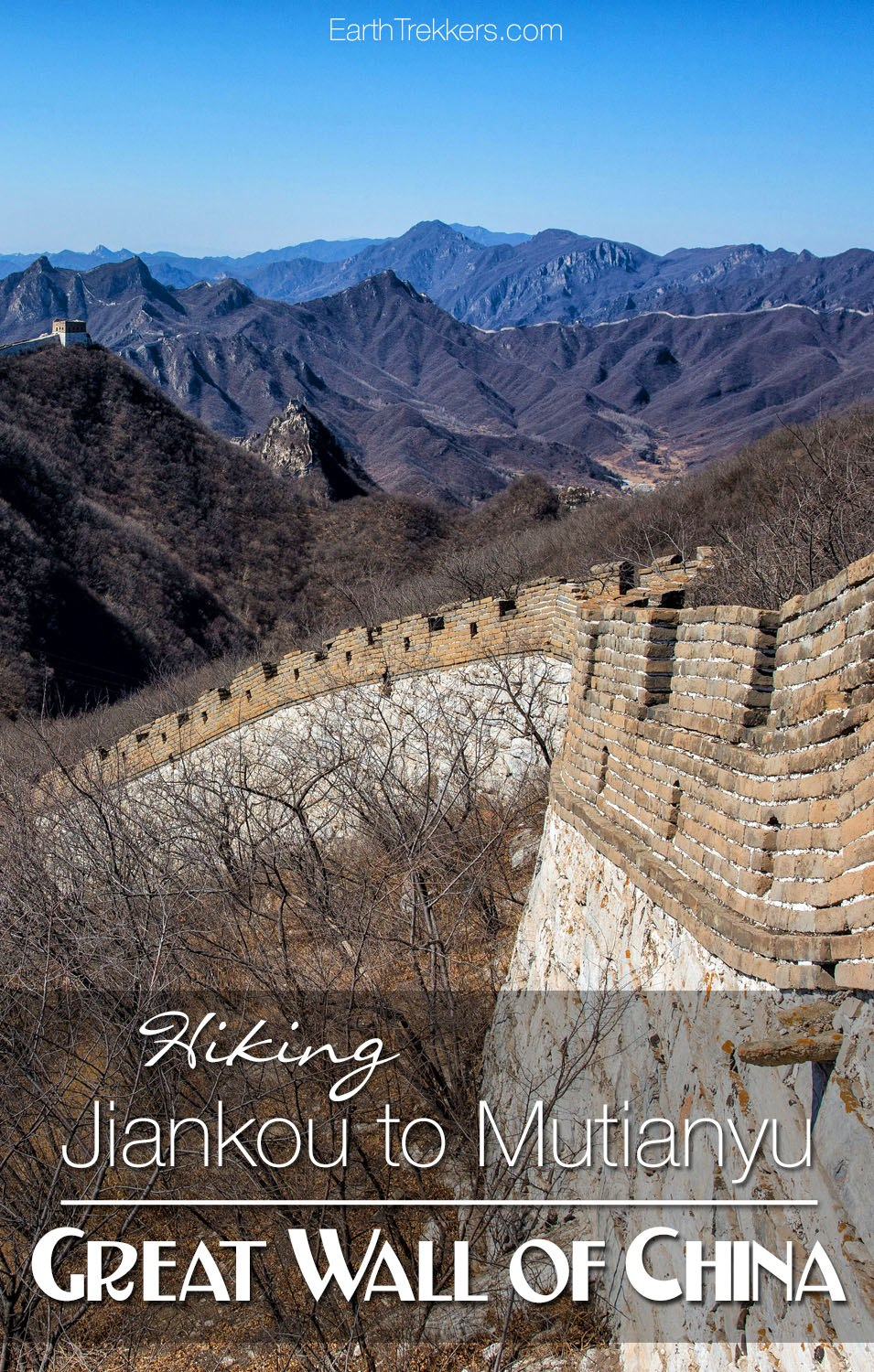Hiking Jiankou To Mutianyu With Kids On The Great Wall Of