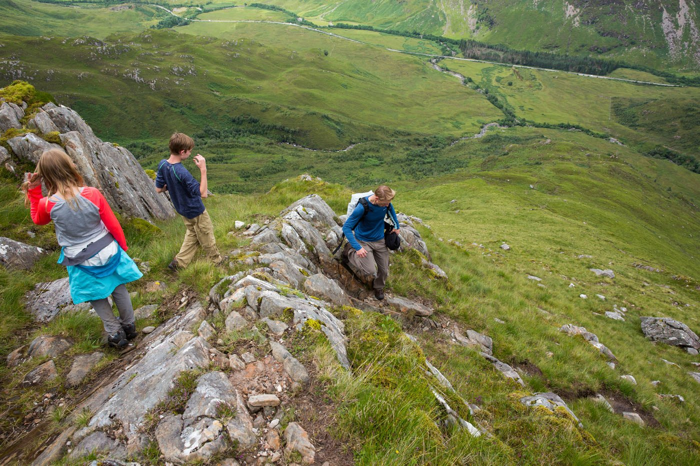 Hiking Scotland Kintail