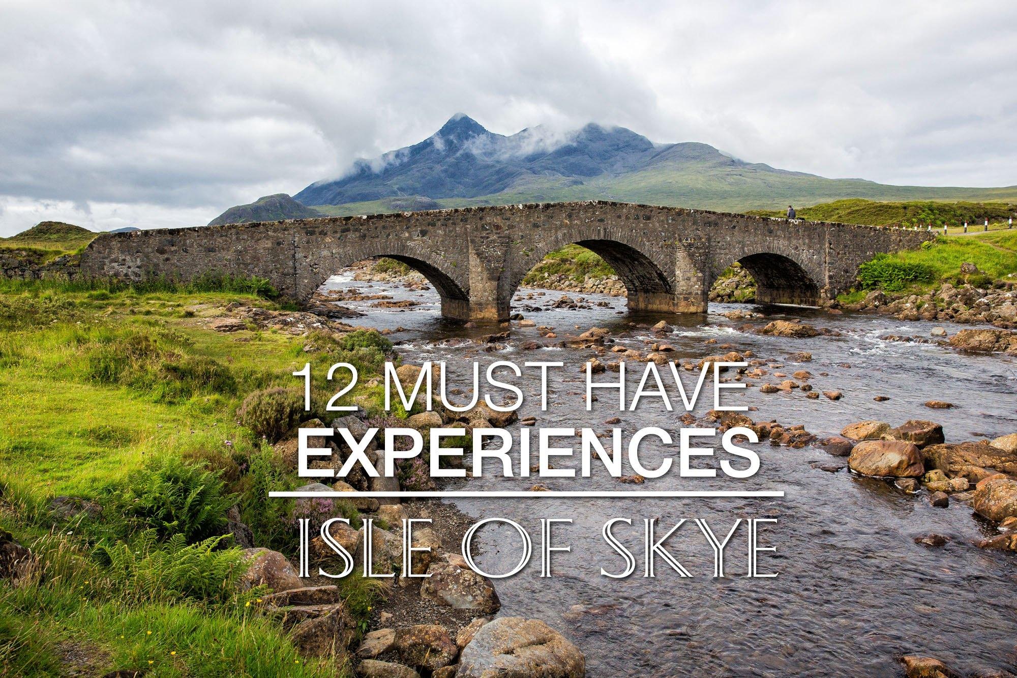 Isle of Skye best things to do