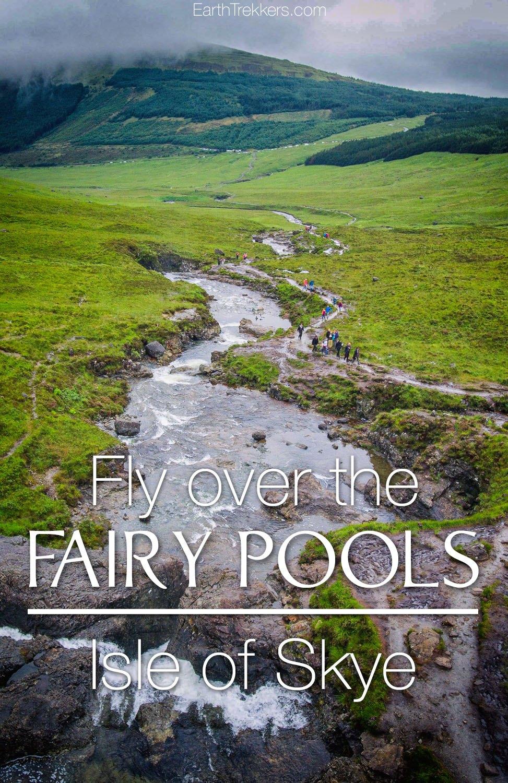 Isle of Skye Drone Fairy Pools