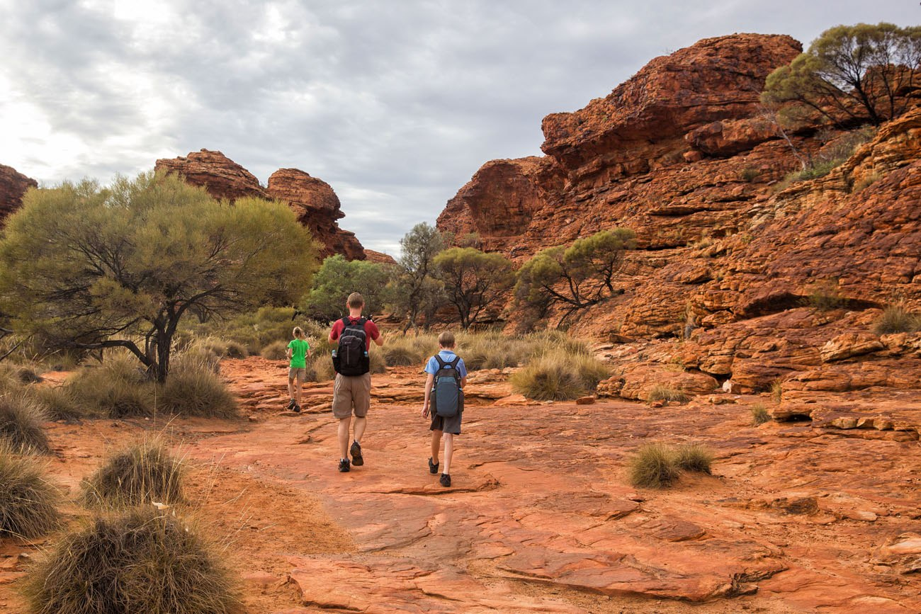 Kings Canyon Walk with Kids