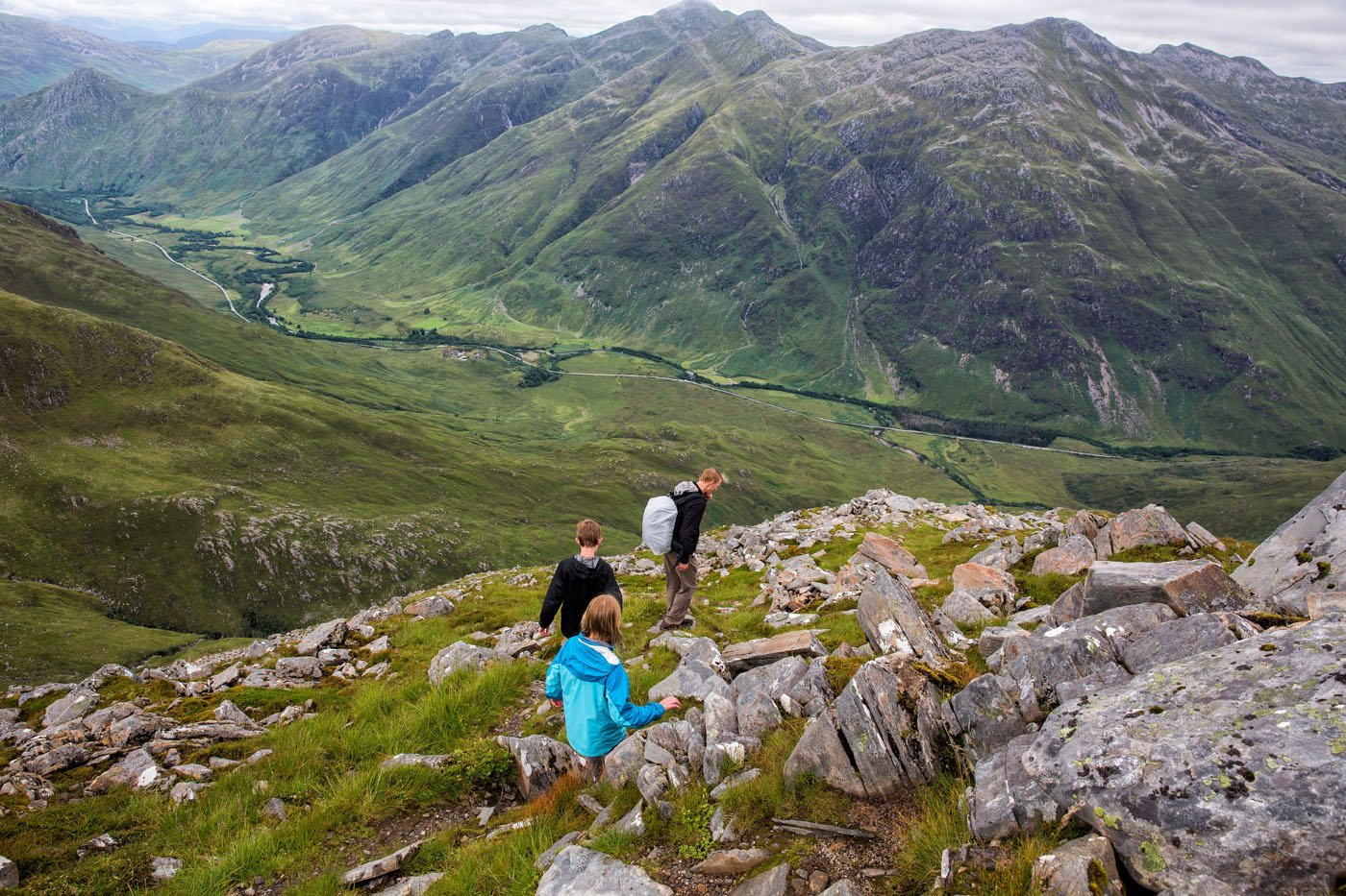 Kintail descent