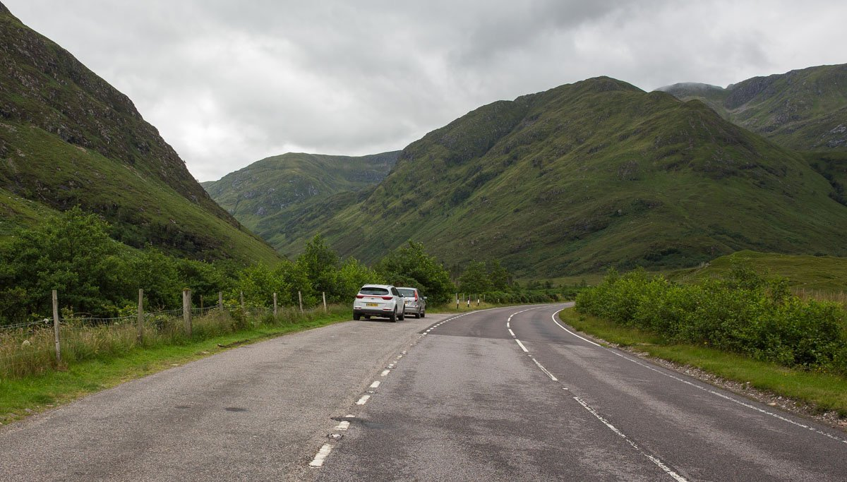 Kintail Saddle Hike Parking
