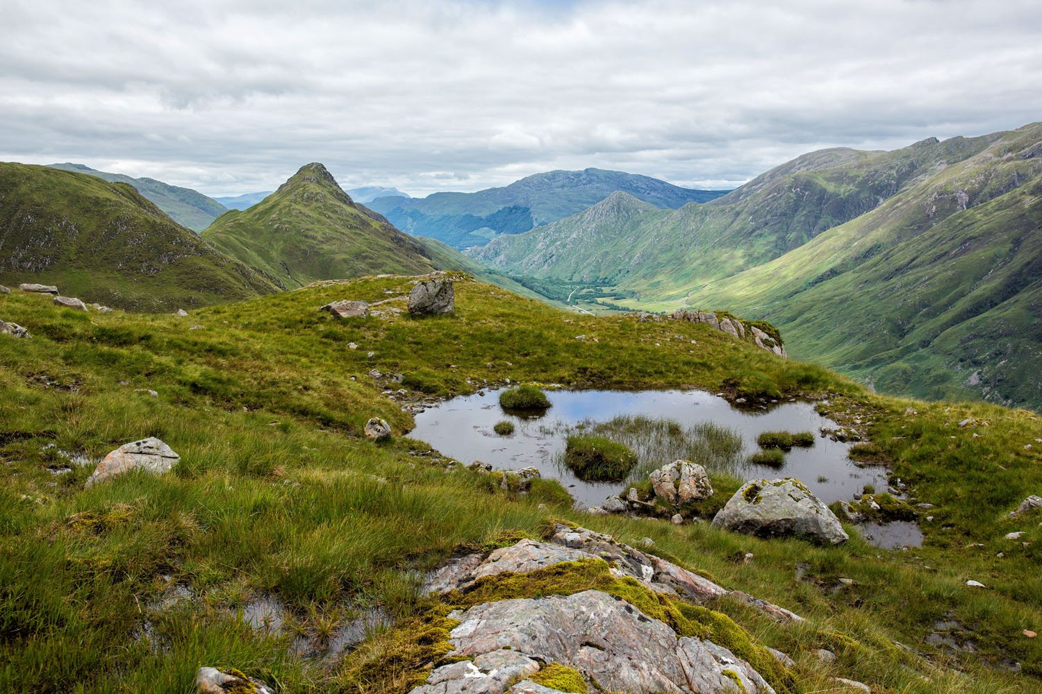 Kintail Saddle Hike