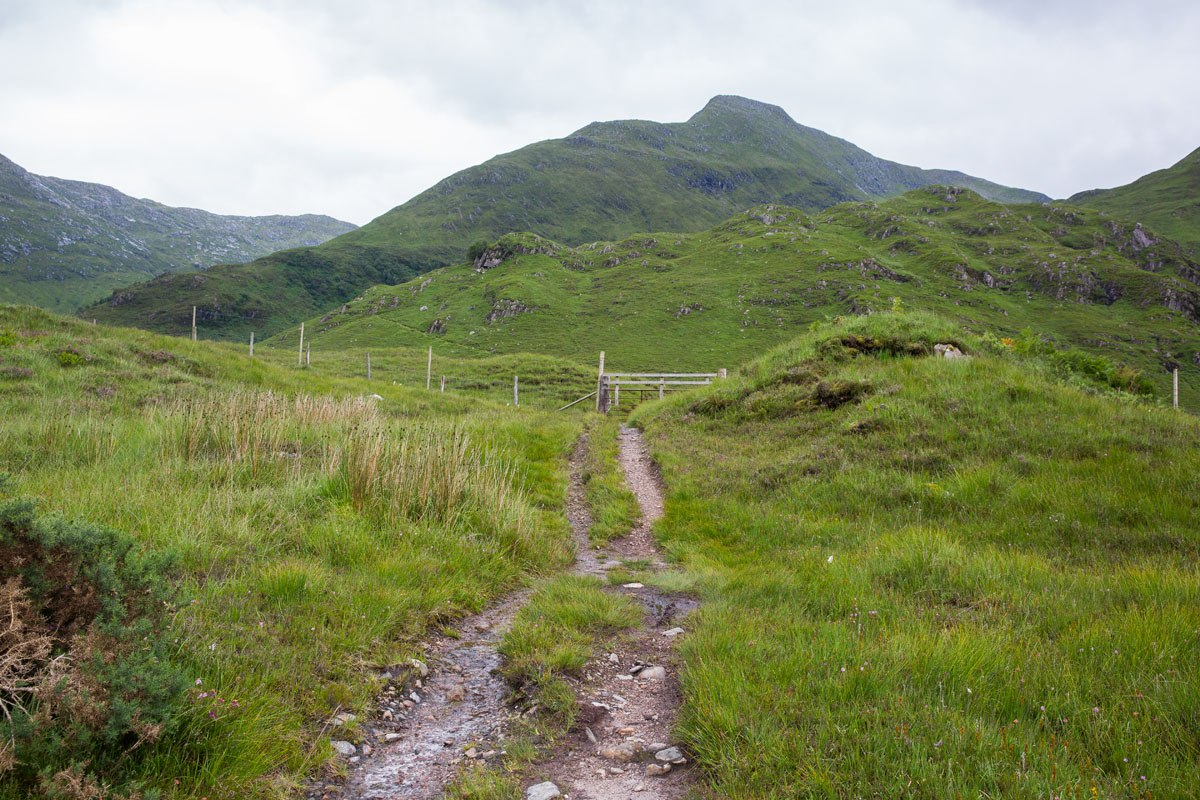 Kintail Saddle Trailhead