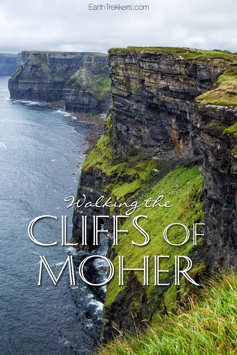 Walking the Cliffs of Moher Ireland