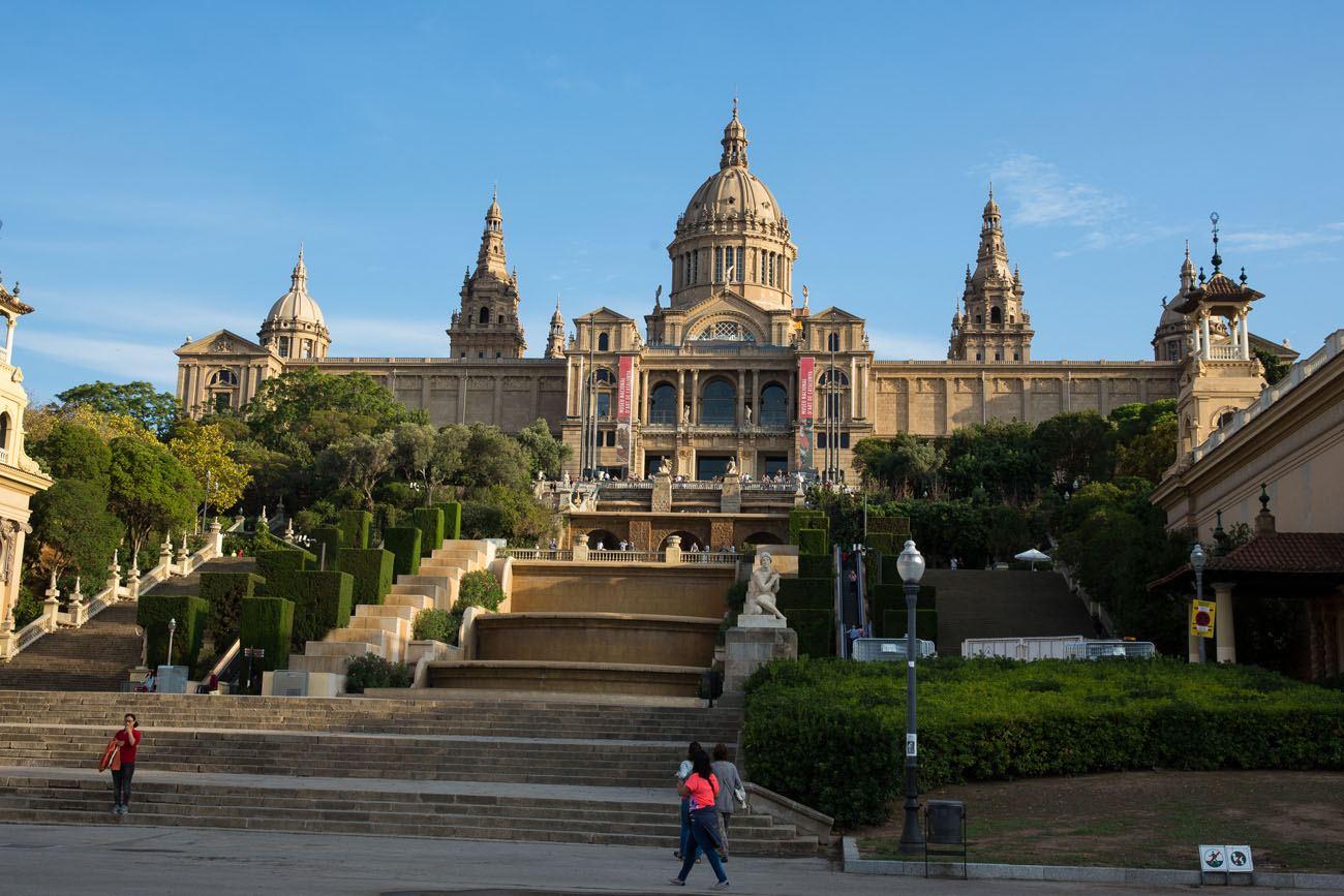 Barcelona art museum