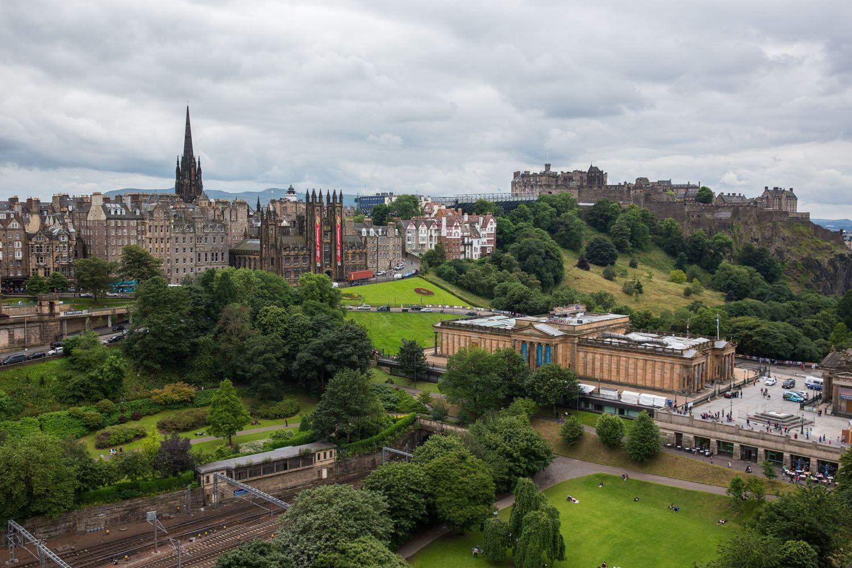 Best Edinburgh View