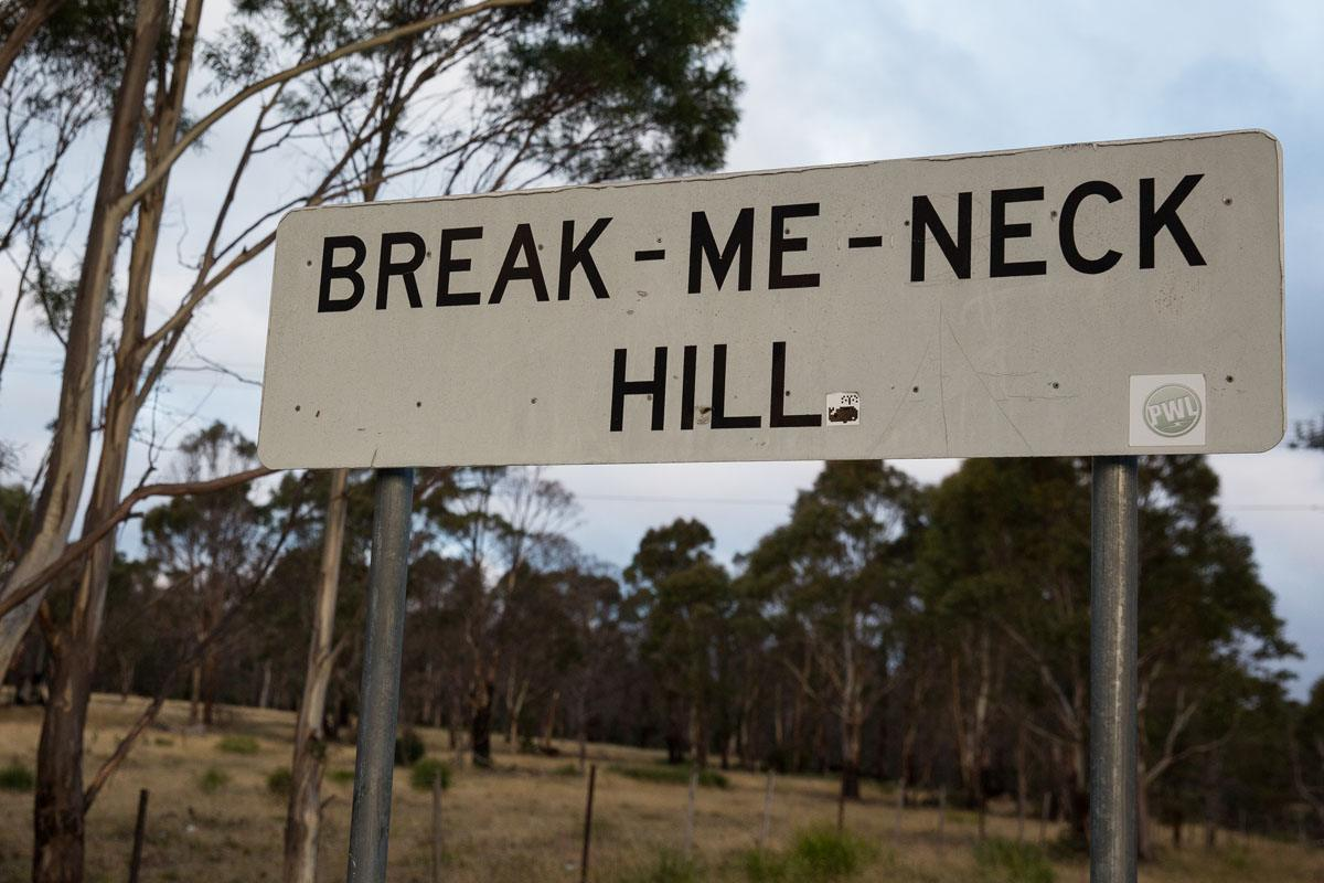 Break me neck hill