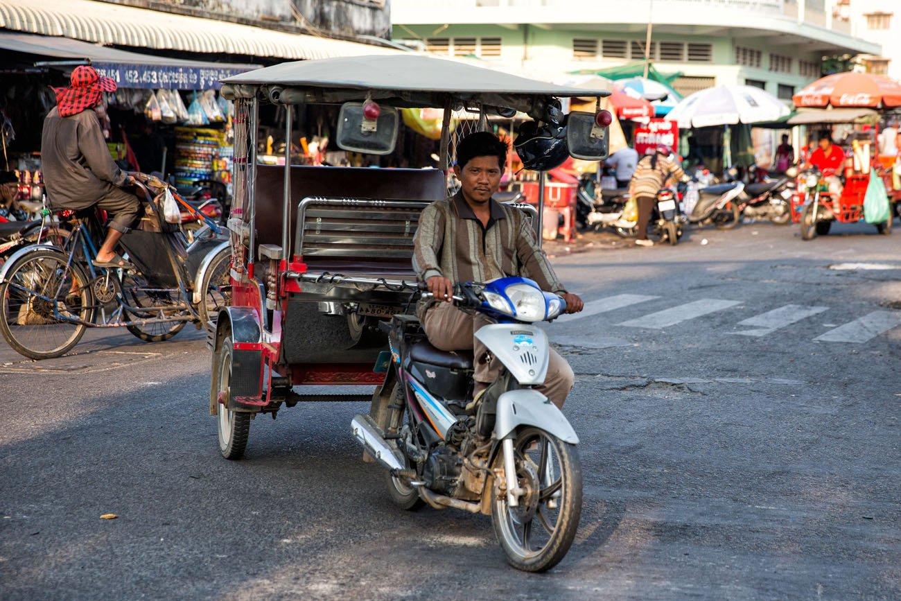 Cambodia street scene