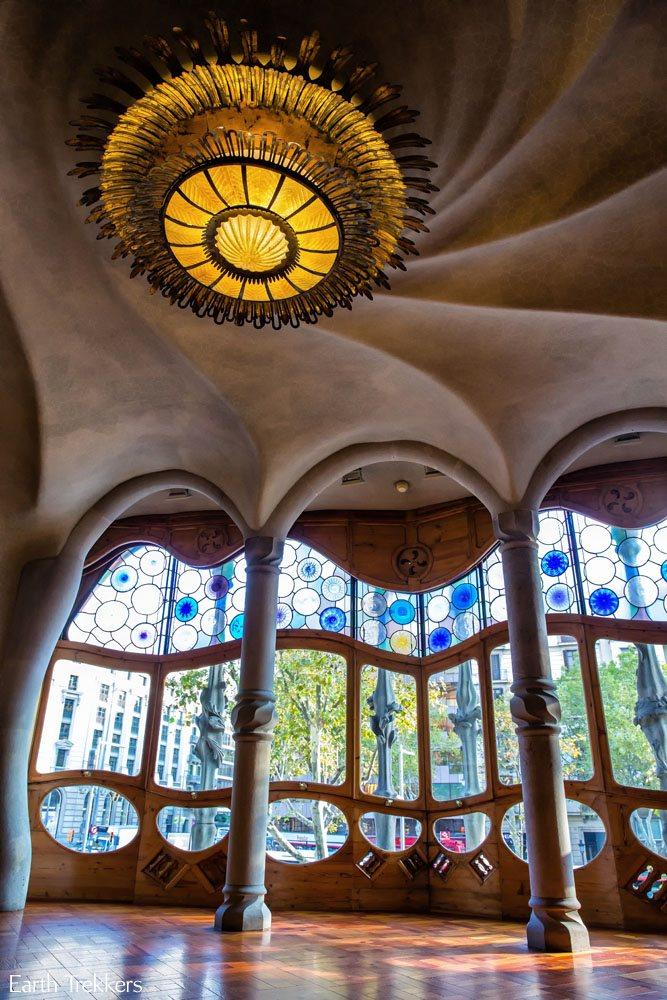 Casa Batllo window