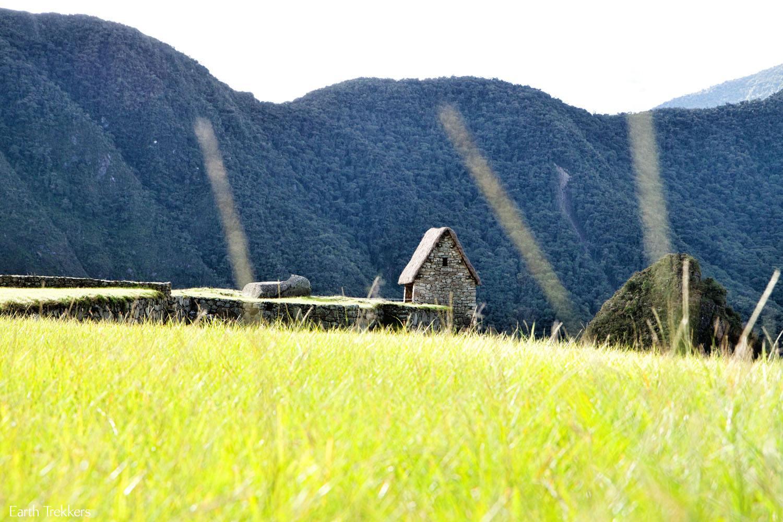 Guardhouse Machu Picchu