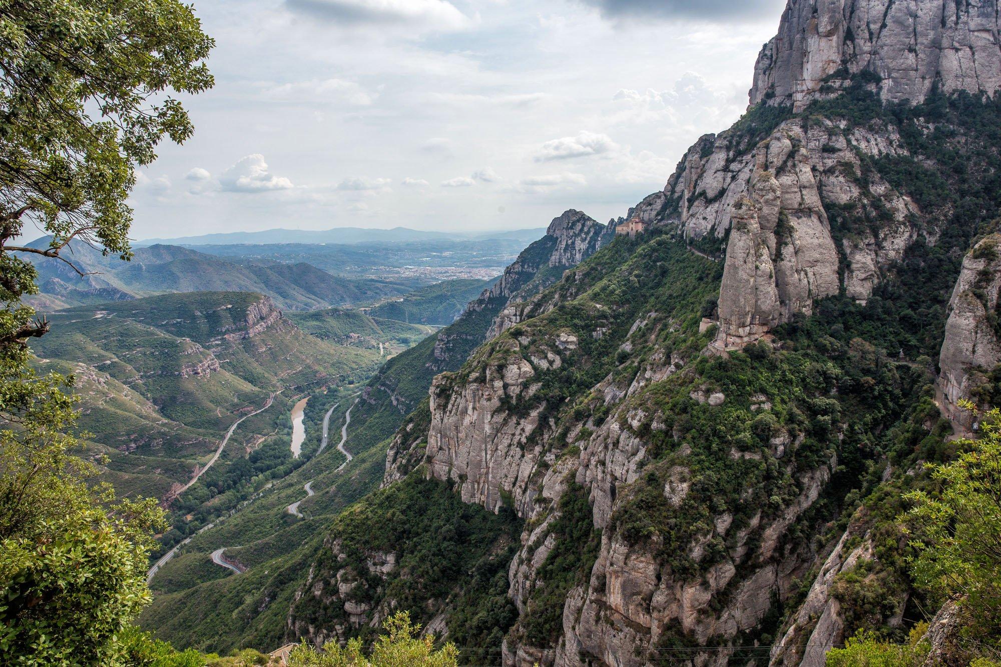 Hiking Montserrat