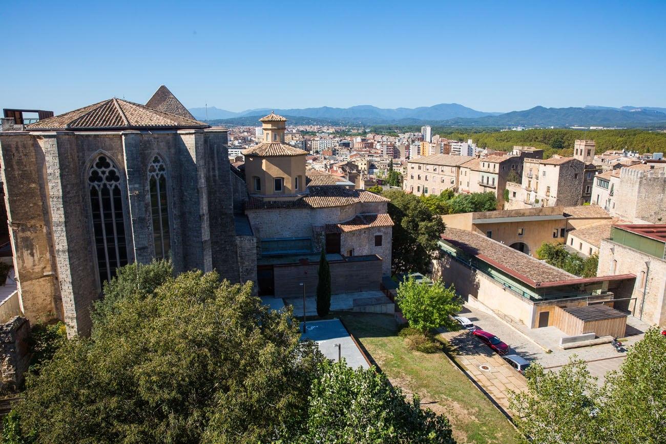 Overlooking Girona