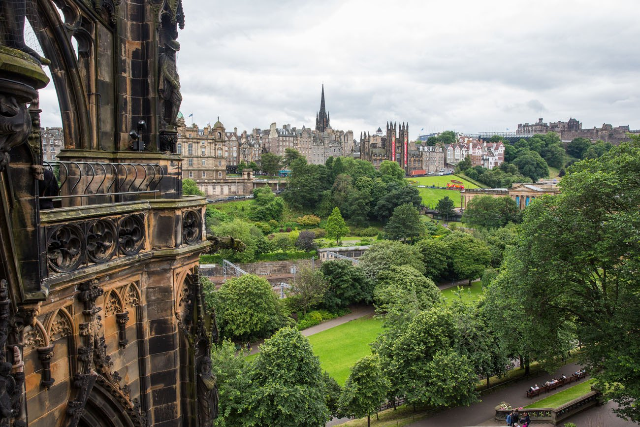 Scott Monument View