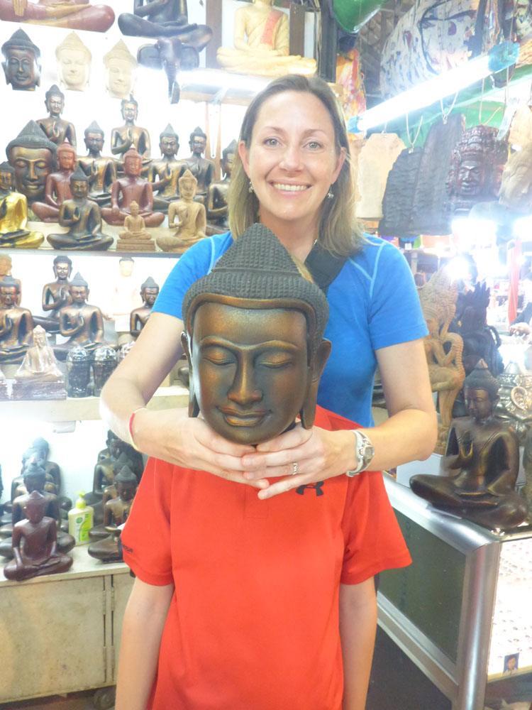Tyler in Cambodia