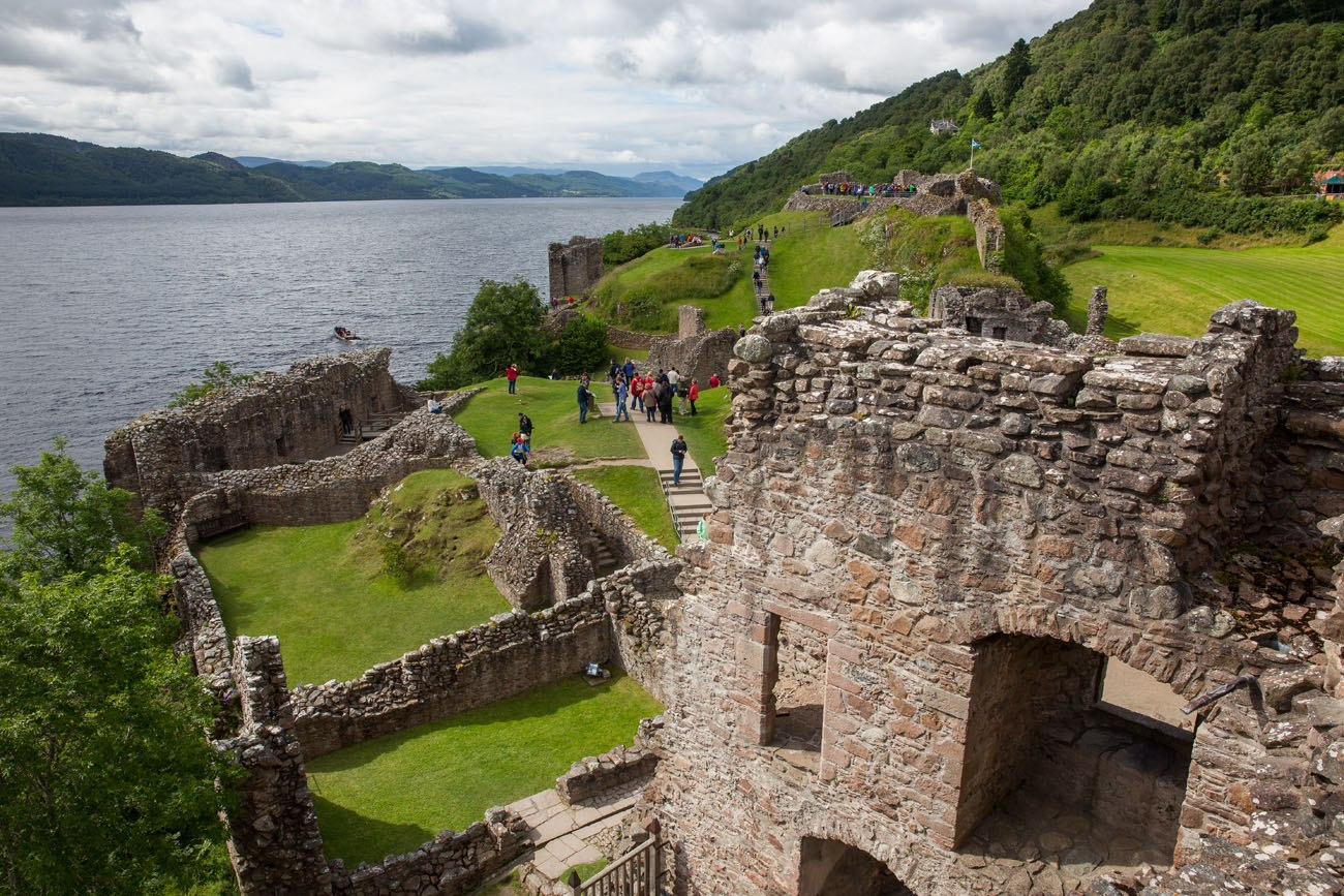 Urquhart Castle July
