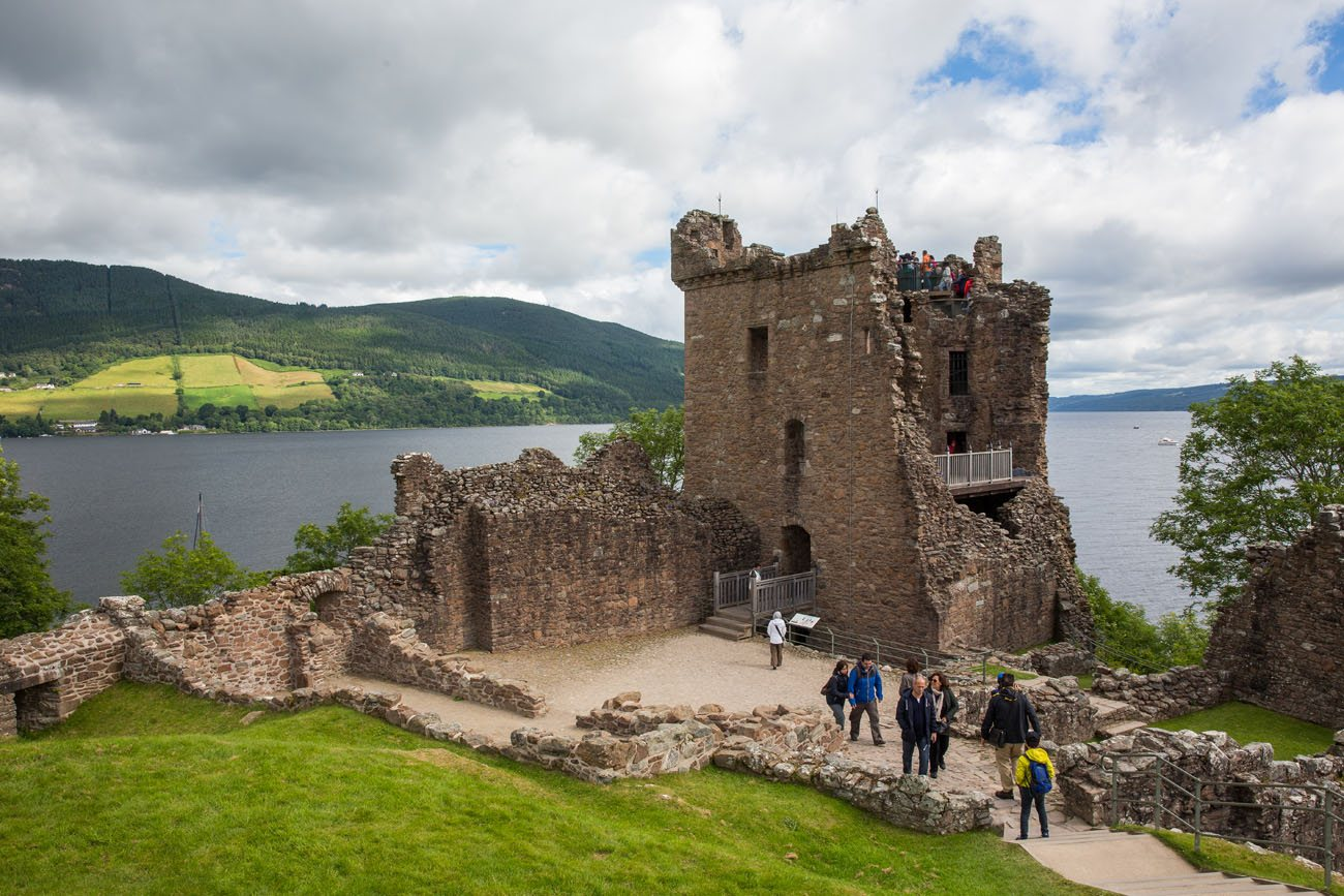 Urquhart Castle Tower